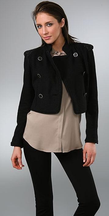 By Malene Birger Vioalba Embellished Shoulder Jacket