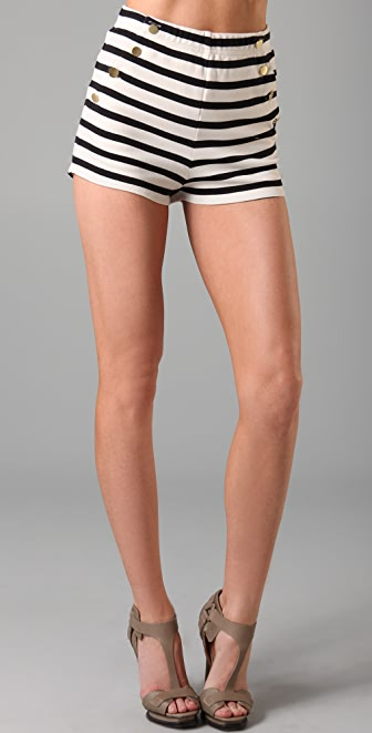By Malene Birger Nacci Stripe Sailor Shorts
