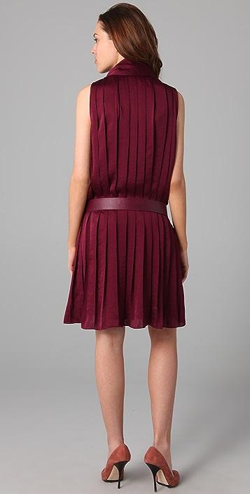 By Malene Birger Emu Pleated Dress