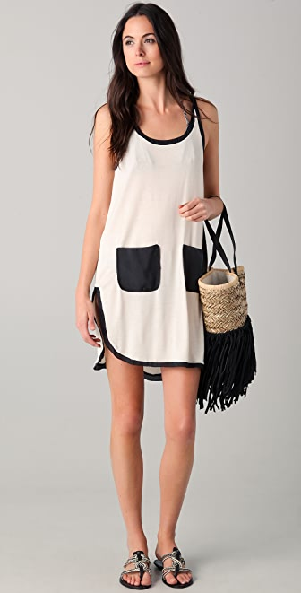 By Malene Birger Elasiu Mini Tank Dress