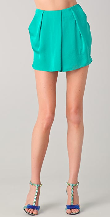 By Malene Birger Giana Draped Shorts