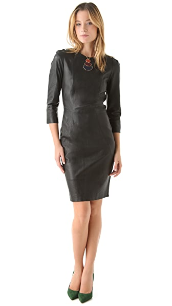 By Malene Birger Sianti Leather Dress