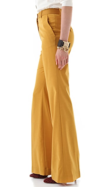 By Malene Birger Cleofe High Waisted Pants