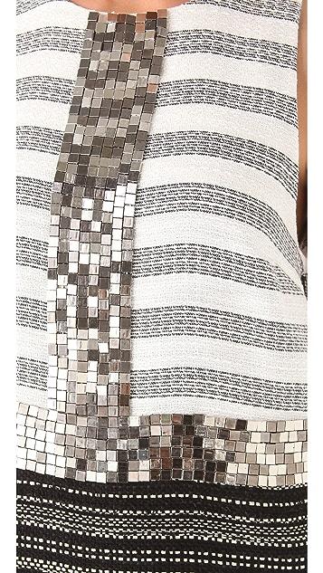 By Malene Birger Rasimnel Beaded Shift Dress