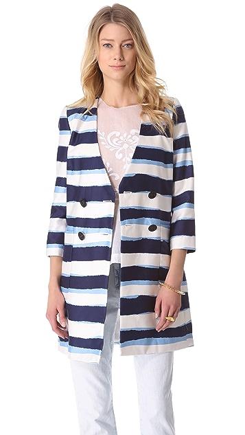 By Malene Birger Francye Striped Coat