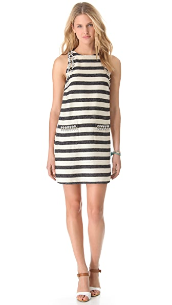 By Malene Birger Chryel Embellished Shift Dress