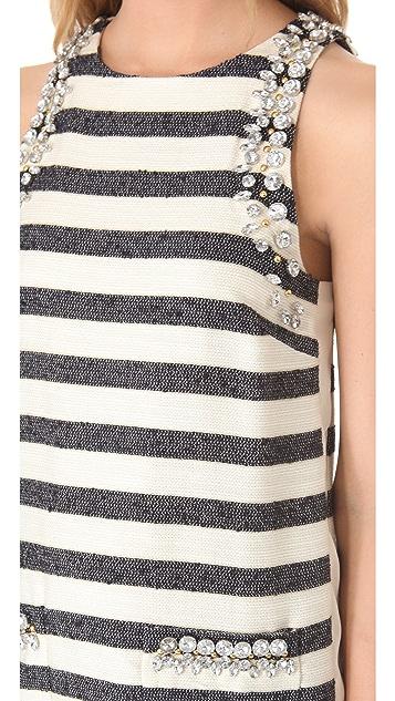 By Malene Birger Chryel Embellished Shift Dress