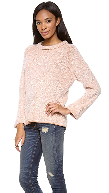 By Malene Birger Hanno Lace Sweater