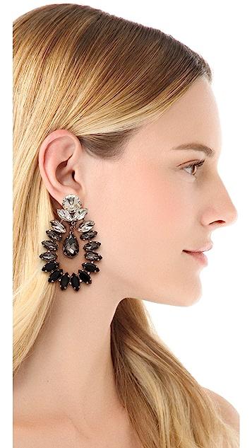 By Malene Birger Moon & Stars Risina Earrings