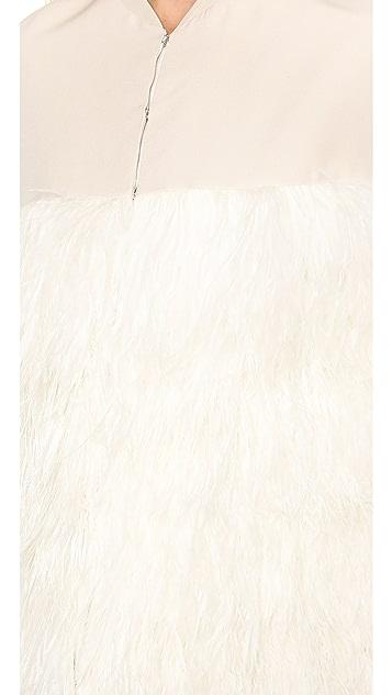 By Malene Birger Lochan Ostrich Feather Cape