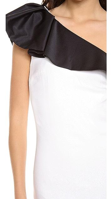 By Malene Birger Chaitan One Shoulder Dress