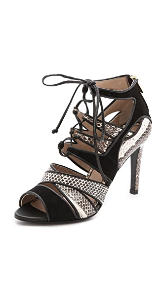 By Malene Birger Petrea Lace Up Sandals