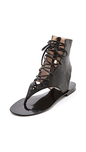 By Malene Birger Tallia Gladiator Flat Sandals