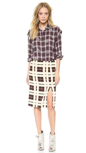 By Malene Birger Costanza Pencil Skirt
