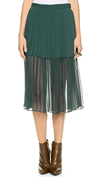 By Malene Birger Atarha Pleated Skirt