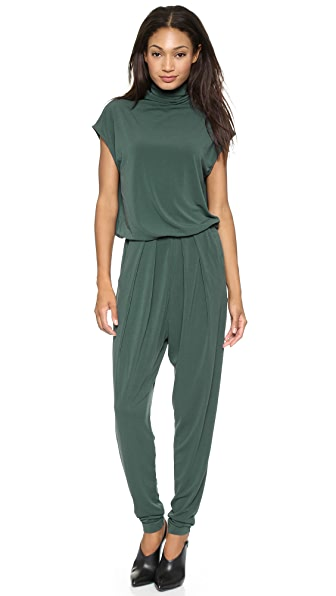 By Malene Birger Pytacio Turtleneck Open Back Jumpsuit