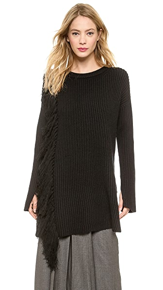 By Malene Birger Luminosa Fringe Pullover