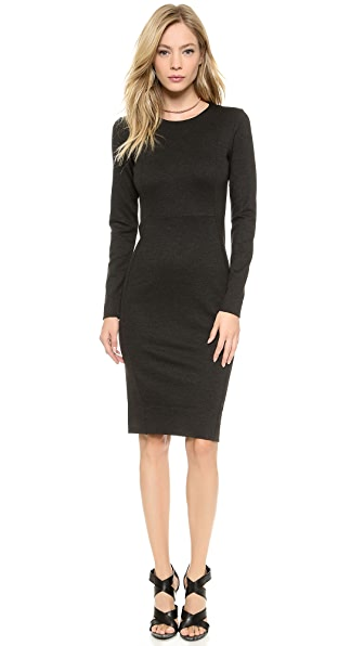 By Malene Birger Domina Stretch Longsleeve Dress