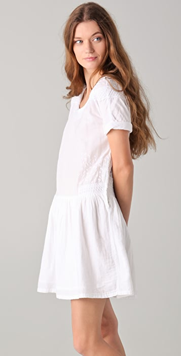 By Zoe Tibet Embroidered Dress