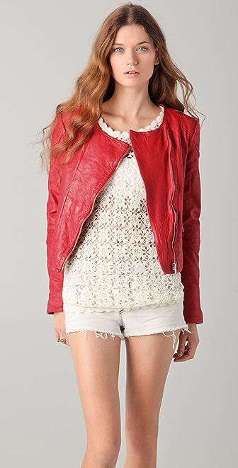 By Zoe Mona Leather Jacket