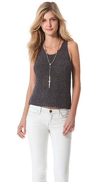 By Zoe Itek Knit Sweater Tank