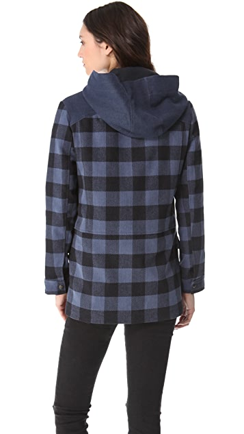 By Zoe Plaid Jacket