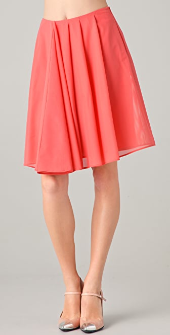 Cacharel Tulle Skirt