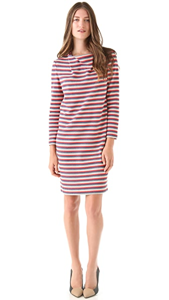 Cacharel Jersey Nid d'Abeille Dress