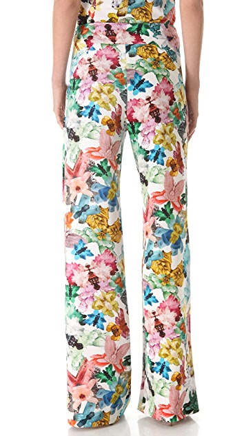 Cacharel Floral Print Pants