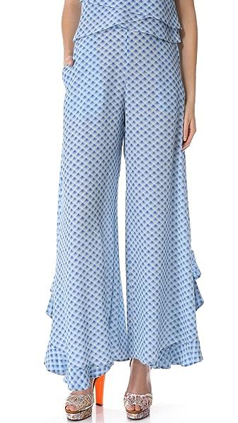 Cacharel Printed Pants