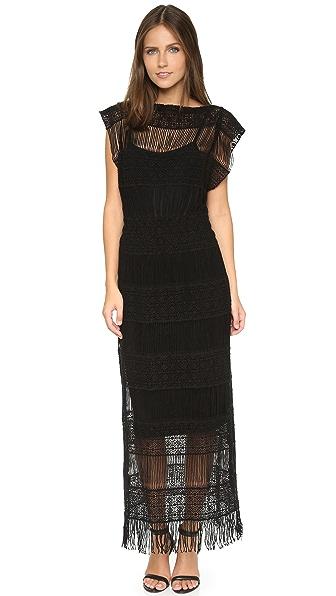 Callahan Crochet Maxi Dress