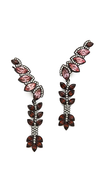 Ca & Lou Cara Long Lobo Earrings