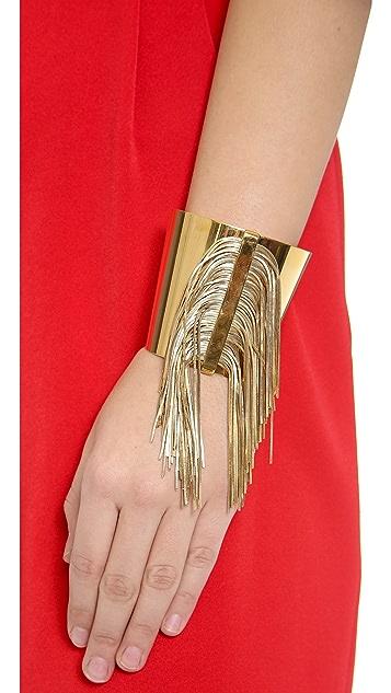 Ca & Lou Fringe Cuff Bracelet