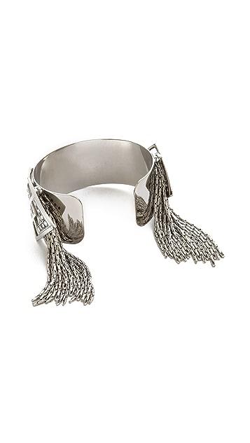 Ca & Lou Mia Fringe Cuff Bracelet