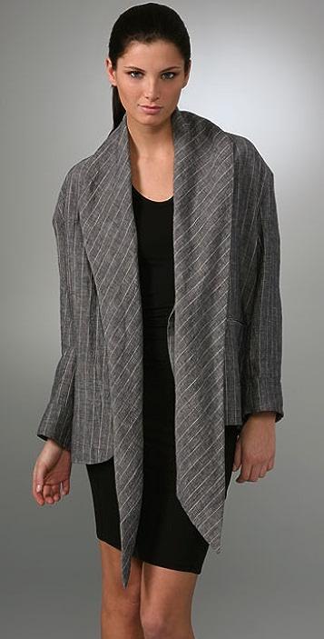 Calvin Klein Collection Pinstripe Jacket