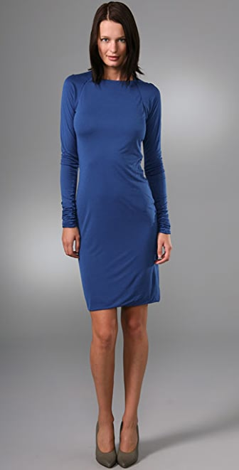 Calvin Klein Collection Raina Long Sleeve Dress