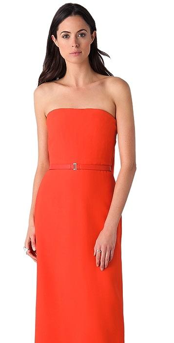 Calvin Klein Collection Oksana Strapless Gown
