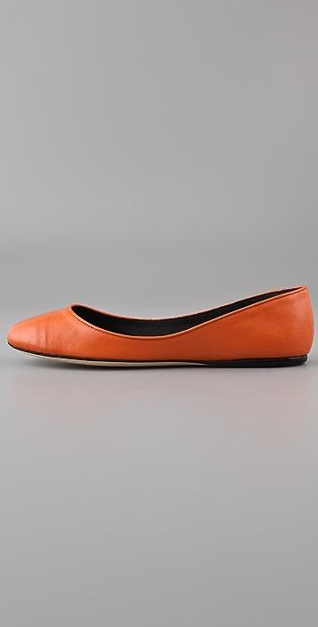Calvin Klein Collection Cameron Ballet Flats