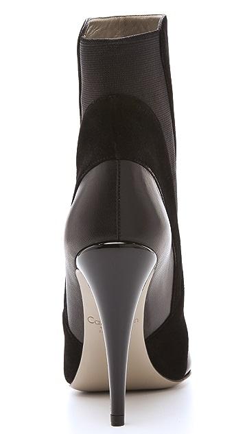 Calvin Klein Collection Ilana High Heel Booties