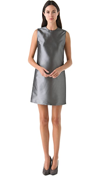 Calvin Klein Collection Metallic Sheath Dress