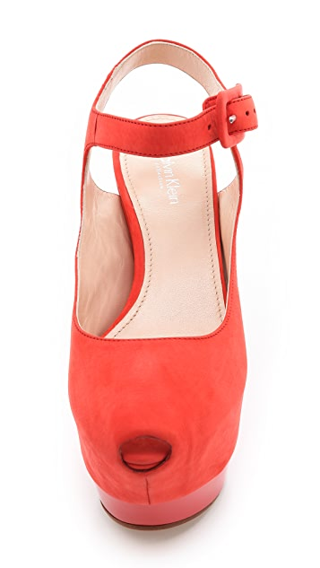 Calvin Klein Collection Ray Platform Sandals