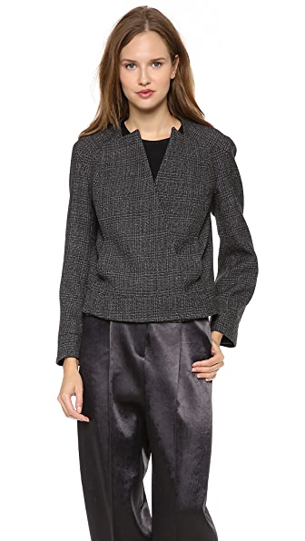 Calvin Klein Collection Sacha Tweed Jacket