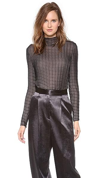 Calvin Klein Collection Samad Long Sleeve Top