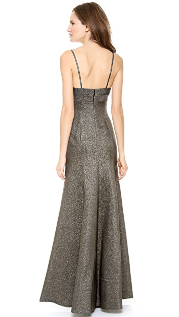 Calvin Klein Collection Sleeveless Gown