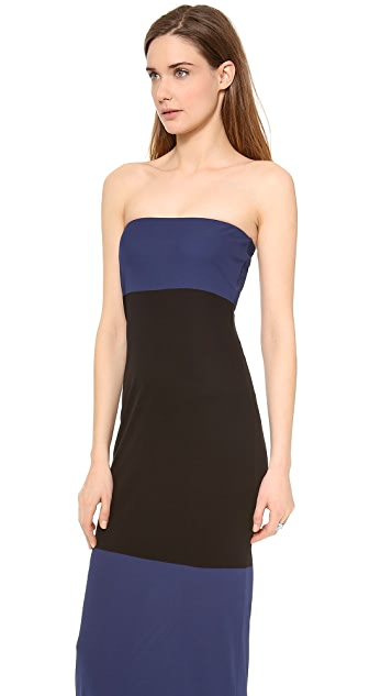 Calvin Klein Collection Strapless Gown