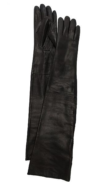 Carolina Amato Leather Opera Gloves