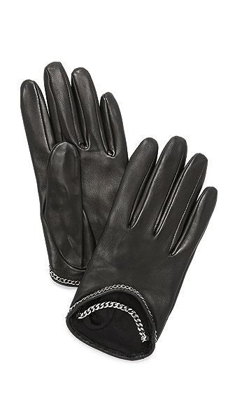 Carolina Amato Mini Chain Gloves