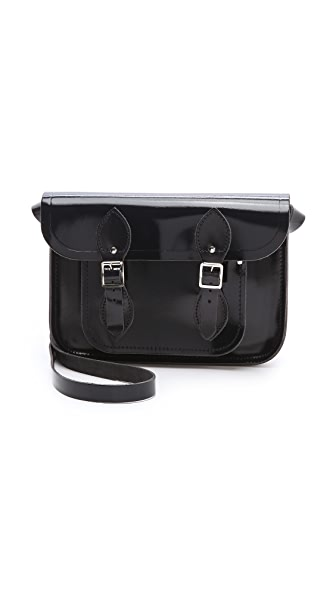 "Cambridge Satchel Patent Leather 11"" Satchel"