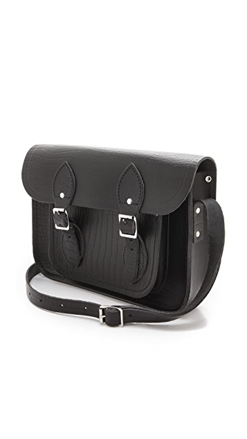 Cambridge Satchel Croc Embossed 11