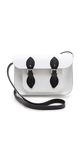 "Cambridge Satchel Two Tone 11"" Satchel"